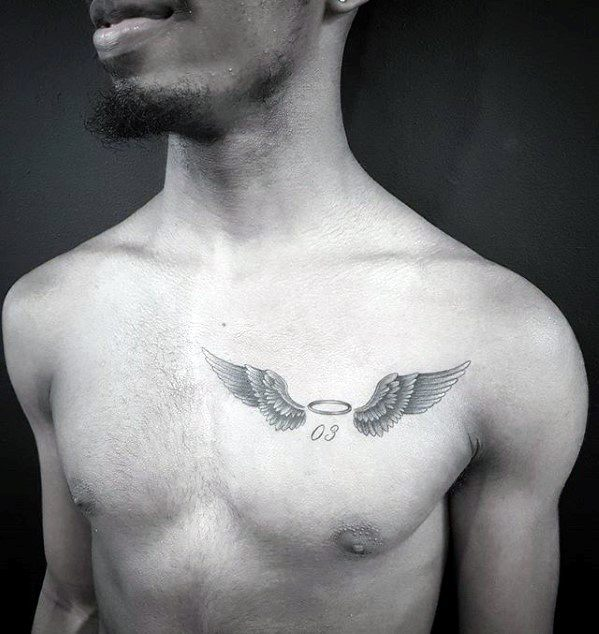 Small Chest Tattoos For Men With Meaning