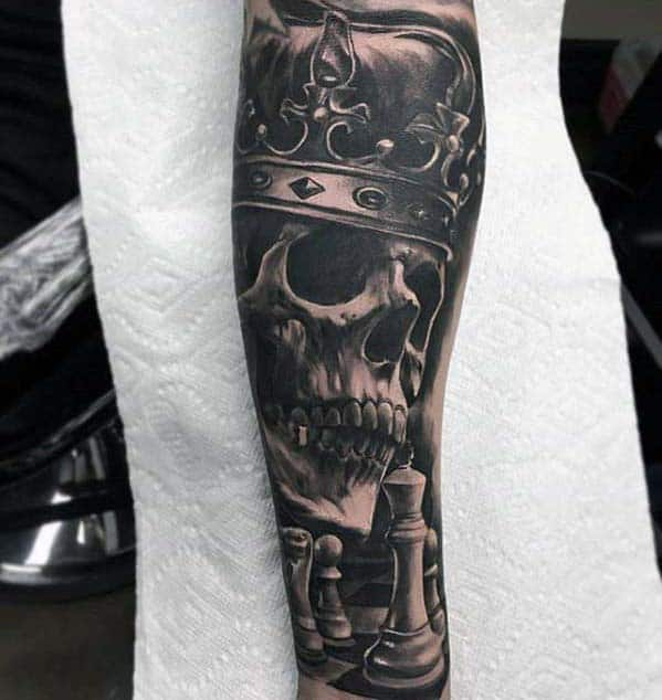 badass forearm tattoos men