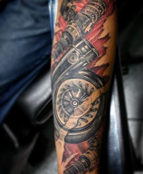 Mechanic Tattoos Sleeve