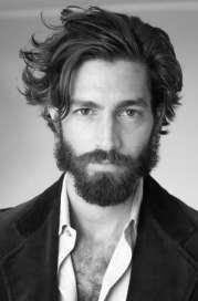 flow hairstyle men - 40 masculine