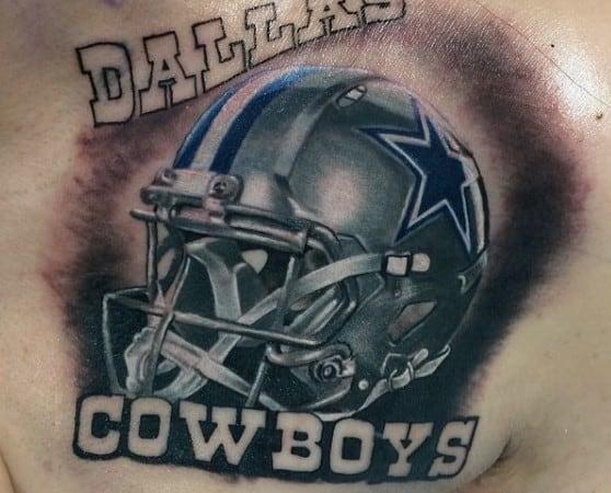 dallas cowboys tattoos men