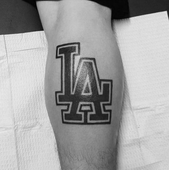 60 Los Angeles Dodgers Tattoos For Men  Baseball Ink Ideas