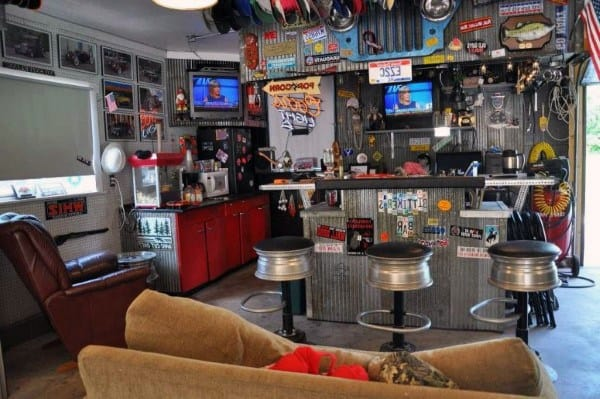 living room mini bar furniture design pretty top 50 best garage ideas - cool cantina workshop designs