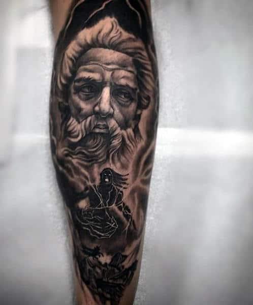 Greek Gods Tattoo : greek, tattoo, Greek, Tattoo, Design