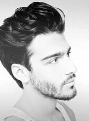 quiff haircut men - 40 manly