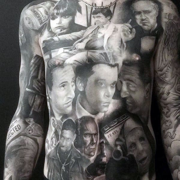 Stomach Tattoo Ideas For Guys