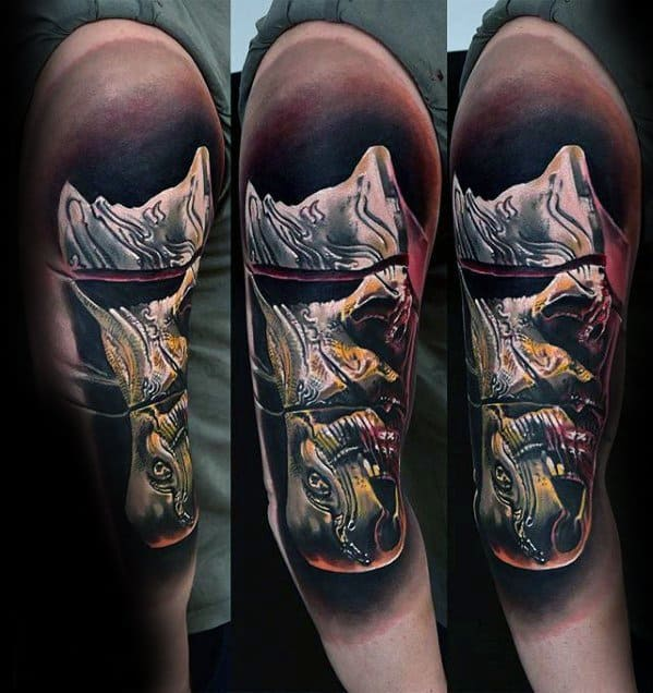Surreal Abstract Tattoos