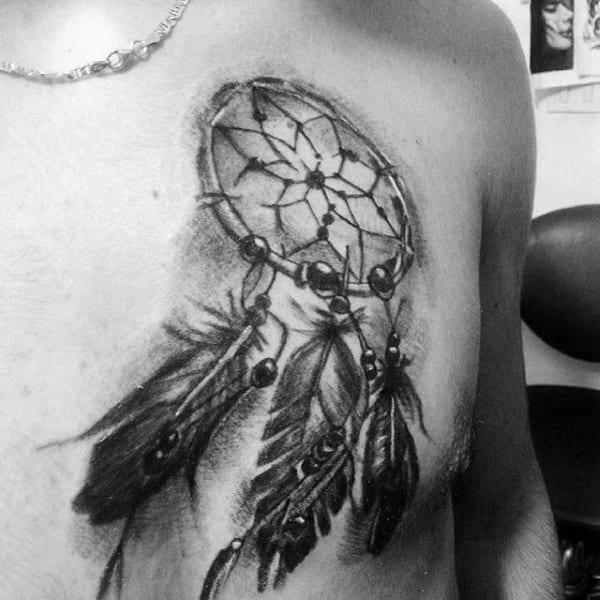 Small Dreamcatcher Tattoos For Women