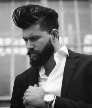 hairstyles men with beards