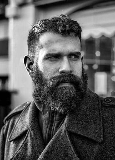 Ideas About Beard Hairstyles Hairstyles For Men