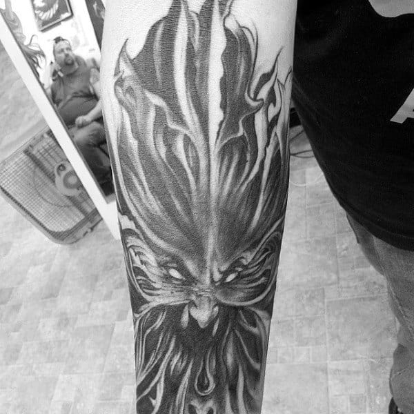 20 Half Angel And Demon Tattoos Ideas And Designs
