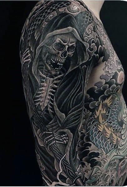 Tattoo Half Sleeve Sketches Ideas