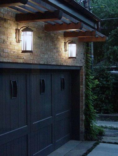50 Outdoor Garage Lighting Ideas  Exterior Illumination