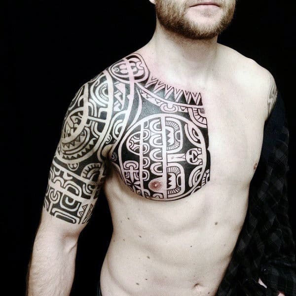 sleeve tribal tattoos