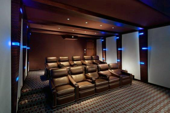 Top 40 Best Home Theater Lighting Ideas  Illuminated Ceilings and Walls