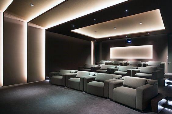 Modern Home Theater Ceiling Design Novocom Top