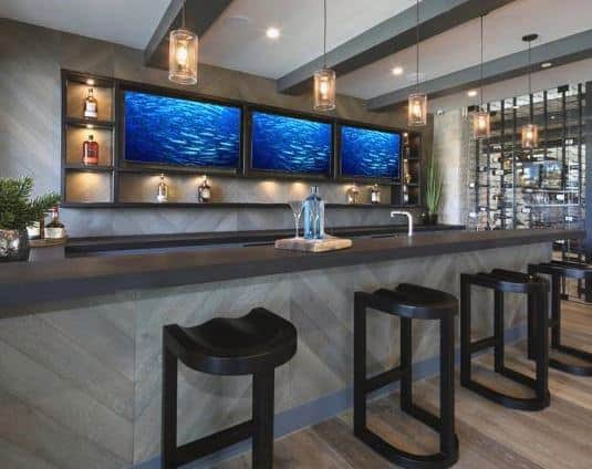 Wet Bar Designs Photos