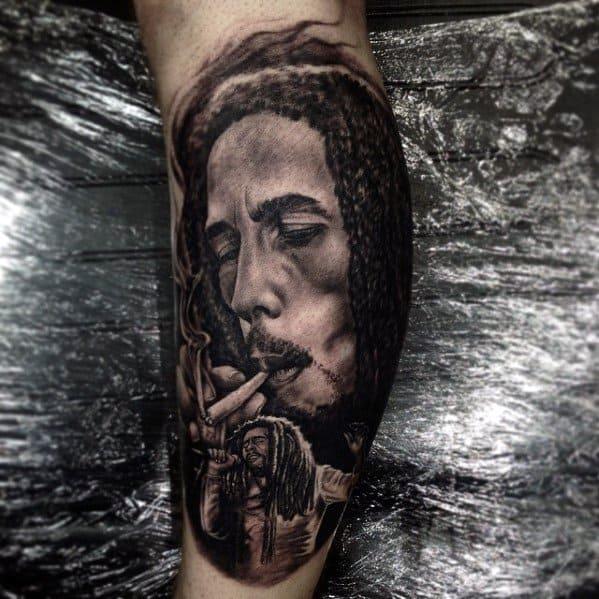 60 Bob Marley Tattoos For Men Jamaican Design Ideas