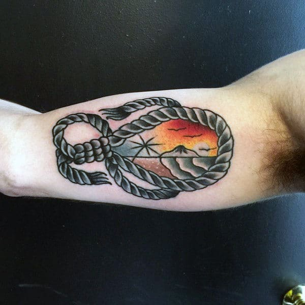50 Noose Tattoo Designs For Men Hangmans Knot Ink Ideas