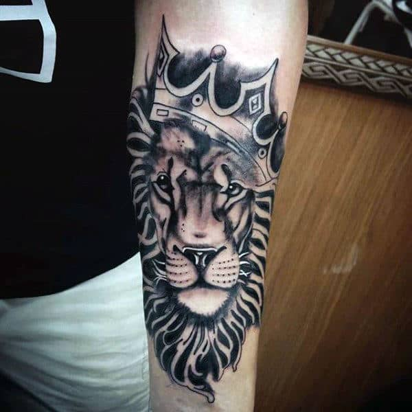 20 Male Lion Forearm Tattoos Ideas And Designs