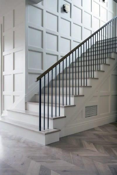 Top 60 Best Stair Trim Ideas Staircase Molding Designs   Staircase Design Near Me   Stair Case   Stair Parts   Handrail   Stair Railing   Interior Design