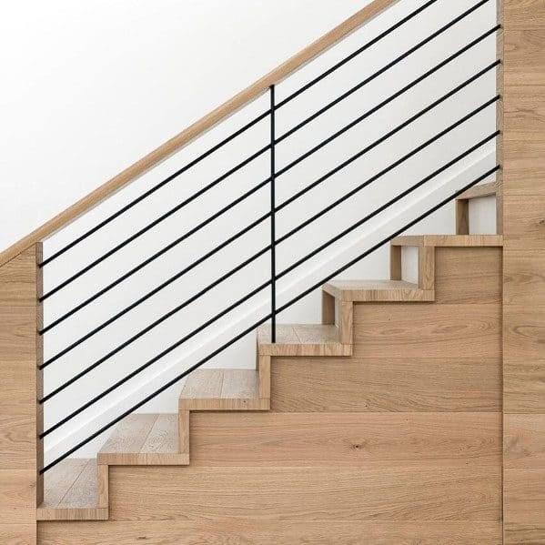 Top 70 Best Stair Railing Ideas Indoor Staircase Designs | Best Wood For Stair Railing | Railing Kits | Paint | Indoor Stair | Balcony Railing Ideas | Deck Railing Designs
