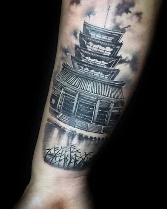 Japanese Temple Tattoo Meaning : japanese, temple, tattoo, meaning, Japanese, Temple, Tattoo, Designs, Buddhist, Ideas