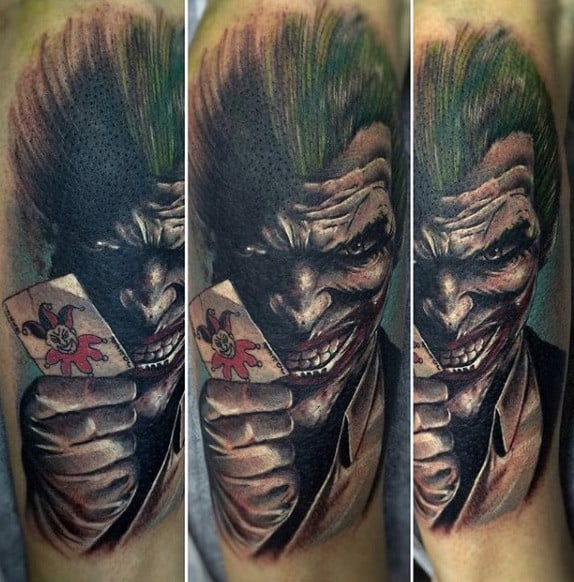 Joker Card Tattoo