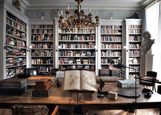 90 Home Library Ideas For Men  Private Reading Room Designs