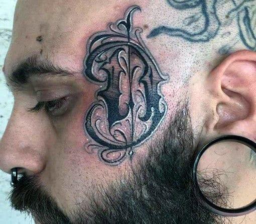 Tattoos For Girls Letter D