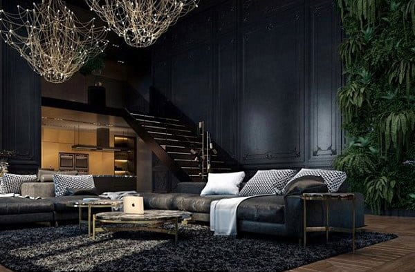 apartment living room design sectional small 100 bachelor pad ideas for men masculine designs decorating