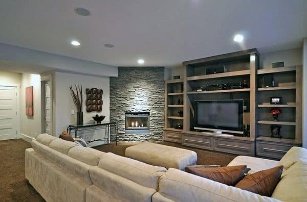 design living room with corner fireplace beautiful accessories top 70 best designs angled interior ideas
