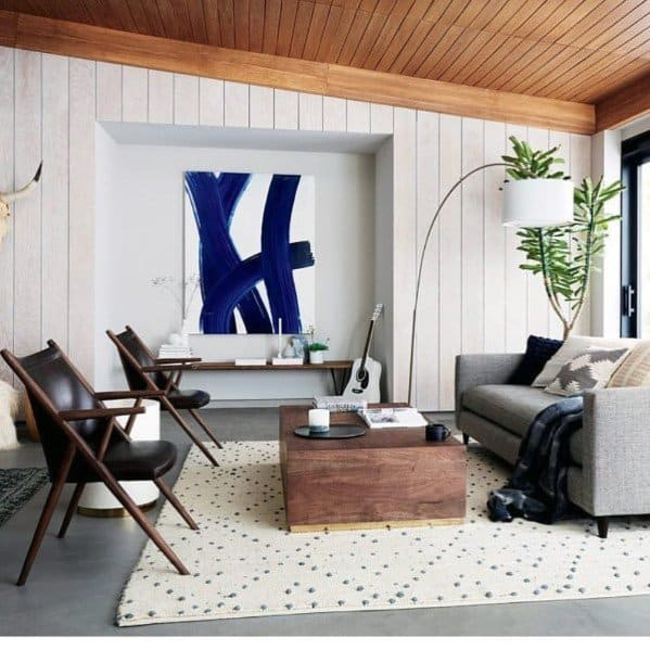 living room wooden ideas paint for a small dark top 60 best wood ceiling interior designs shiplap