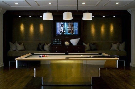 Choosing a new style of table can change the whole vibe in your dining area. 60 Game Room Ideas For Men - Cool Home Entertainment Designs