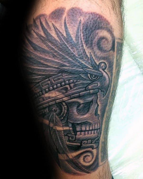 Mayan Warrior Tattoos : mayan, warrior, tattoos, Mayan, Tattoo, Ideas, [2021, Inspiration, Guide]