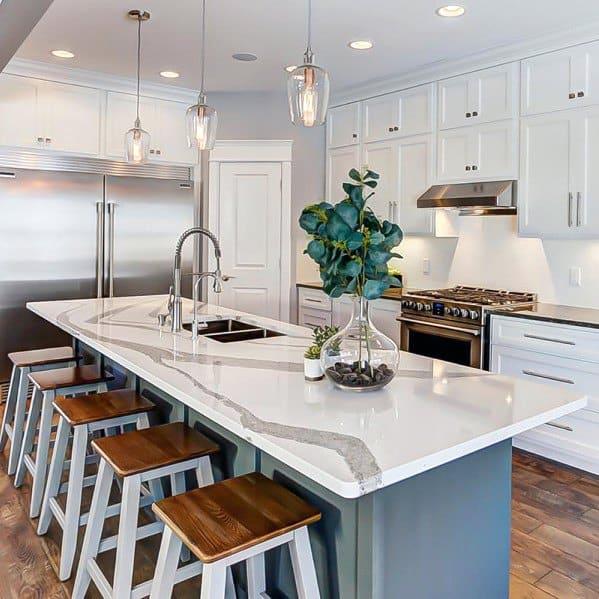 kitchen lights ideas islands designs top 50 best island lighting interior light fixtures luxury