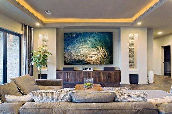 Top 40 Best Crown Molding Lighting Ideas  Modern Interior Designs