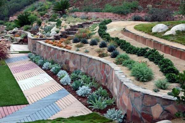 slope landscaping ideas