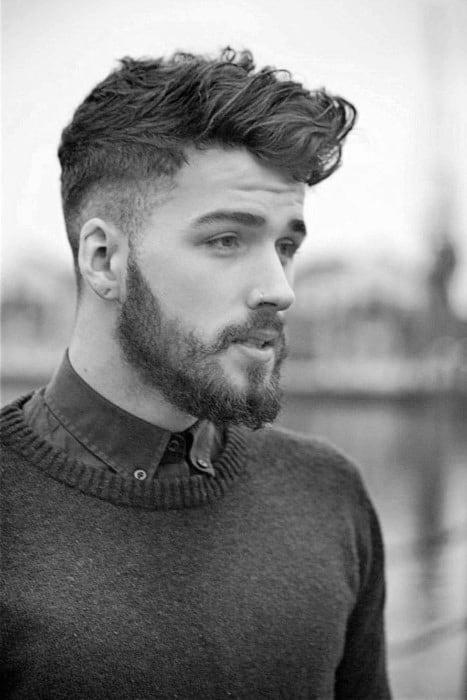 Short Wavy Hair For Men 70 Masculine Haircut Ideas