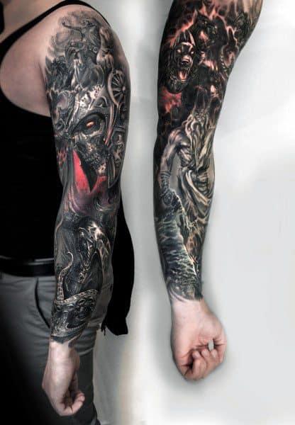 Dark Themed Tattoos : themed, tattoos, Gothic, Tattoo, Ideas, [2021, Inspiration, Guide]