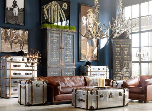 100 Bachelor Pad Living Room Ideas For Men Masculine Designs Part 67