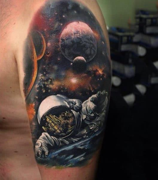 universe tattoo design