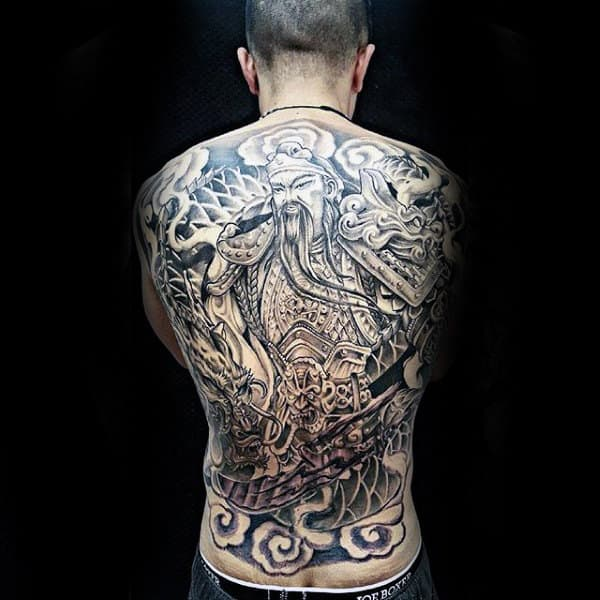 chinese tattoos men - masculine