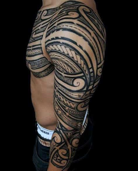 Tribal Tattoos Sleeves : tribal, tattoos, sleeves, Tribal, Tattoo, Sleeve, Ideas, Designs