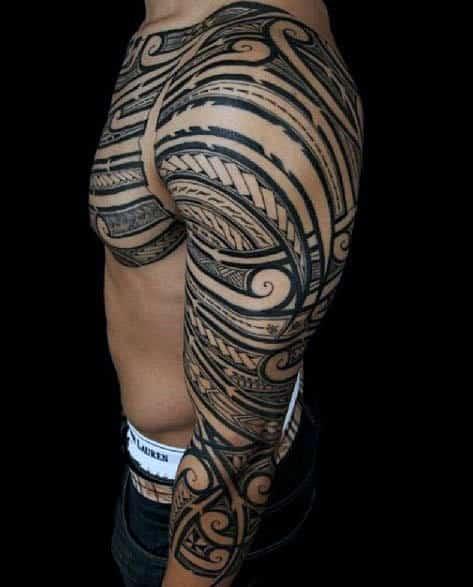ada76ff20 Tribal Tatto: Tribal Tattoos For Men Arms Sleeve Designs