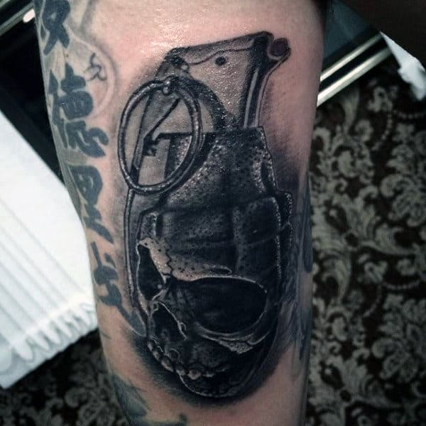 Grenade Tattoo Designs