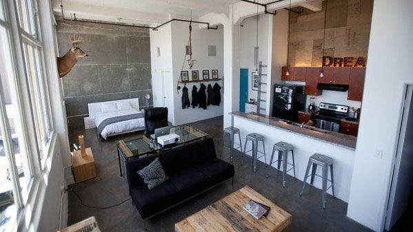 Manly Ideas For Studio Apartments