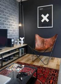 100 Bachelor Pad Living Room Ideas For Men - Masculine Designs