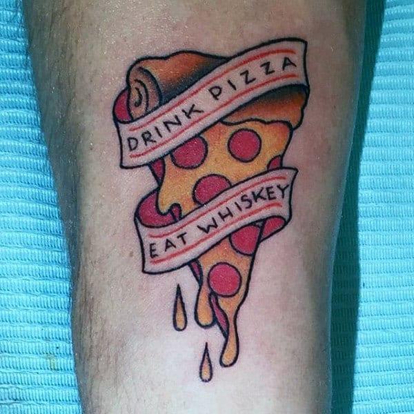 90 Food Tattoos For Men Delicious Design Ideas