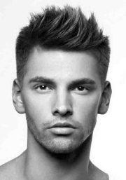 spiky hairstyles men - bold